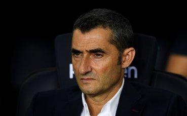 Ернесто Валверде остава начело на Барселона до 2020 година