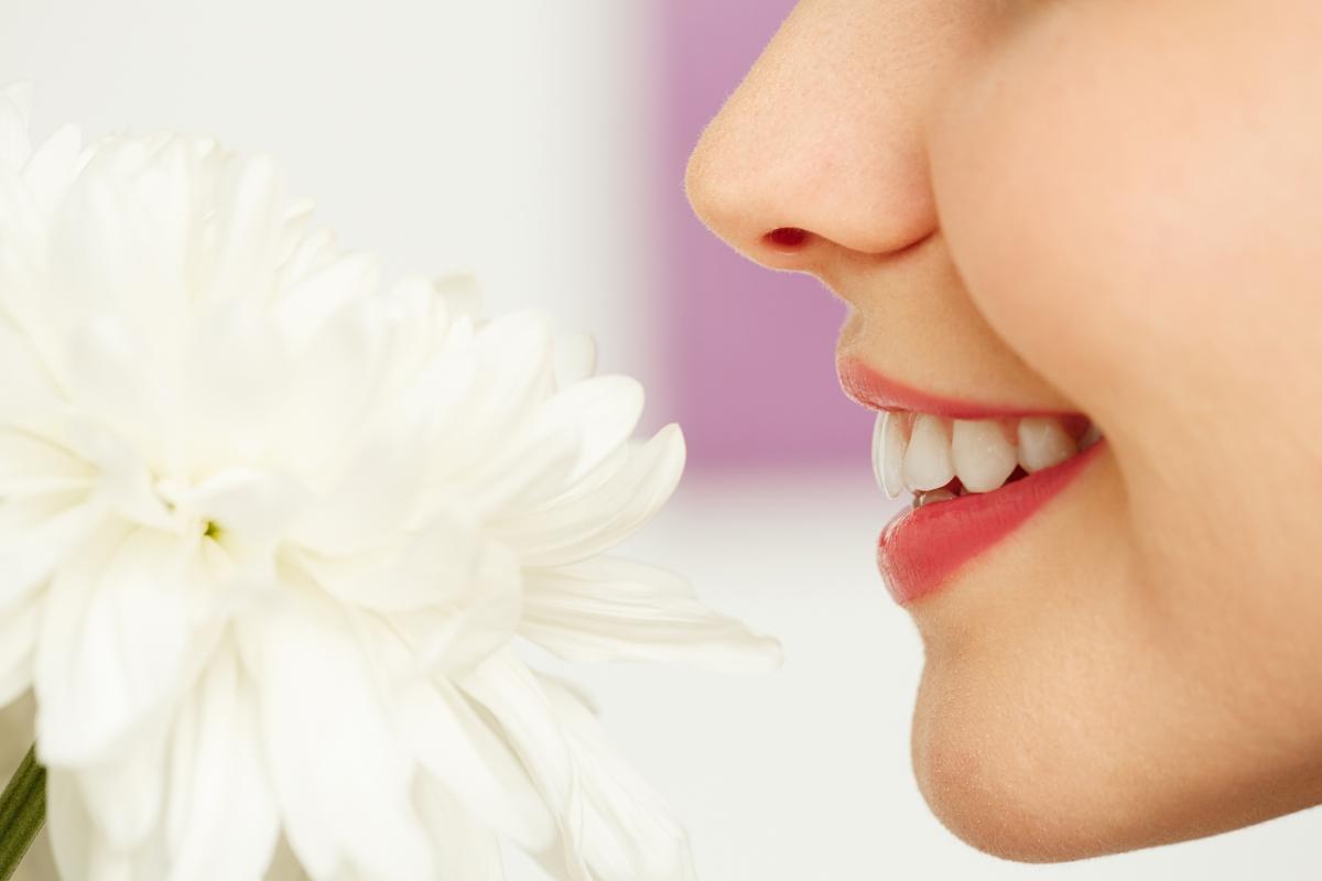 Човешкият нос може да различи 50 000 миризми.
