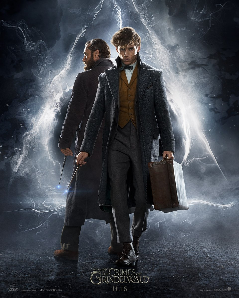 """5. Fantastic Beasts: The Crimes of Grindelwald / """"Фантастични животни: Престъпленията на Гринделвалд"""" – Фентъзи; Режисьор: Дейвид Йейтс; Участват: Еди Редмейн, Джуд Лоу, Джони Деп"""
