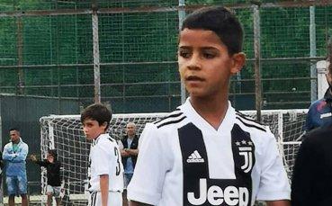 Роналдо: На сина ми ще му е трудно да е добър, колкото мен