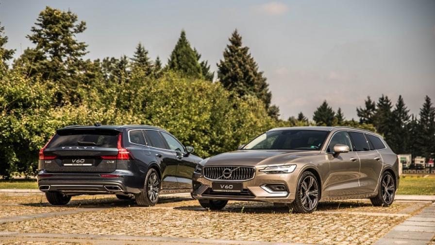 Volvo V60 е вече на българския пазар