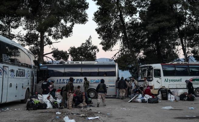 Деца сред жертвите на руските удари в Идлиб