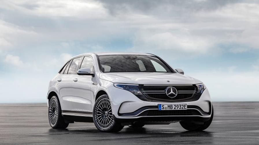 Това е първият изцяло електрически Mercedes