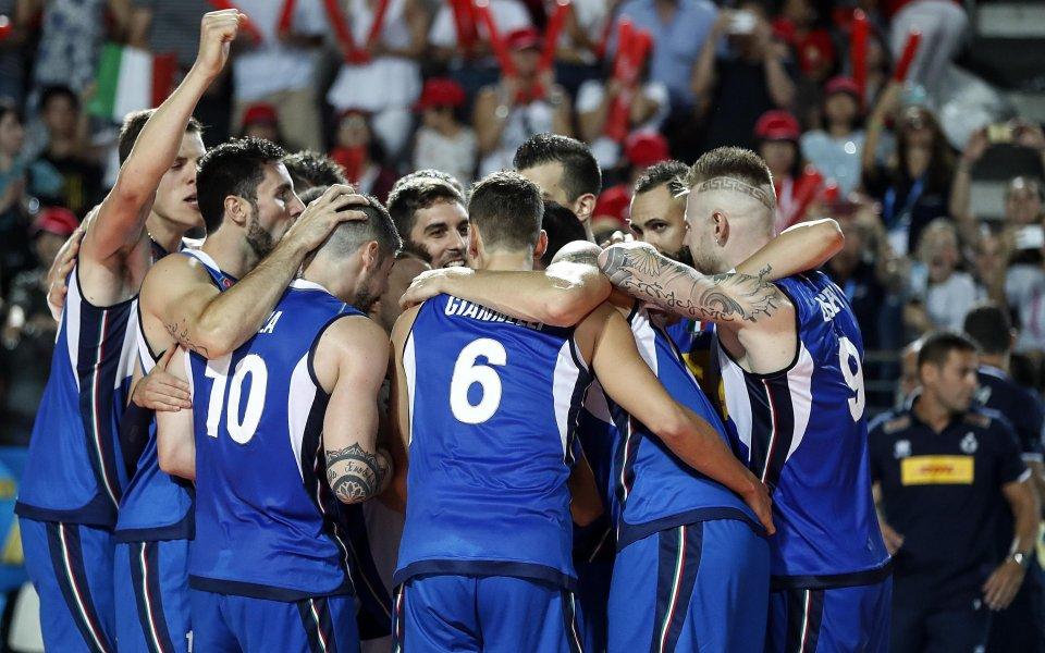 Италия не се затрудни срещу Португалия, Русия даде гейм на Турция