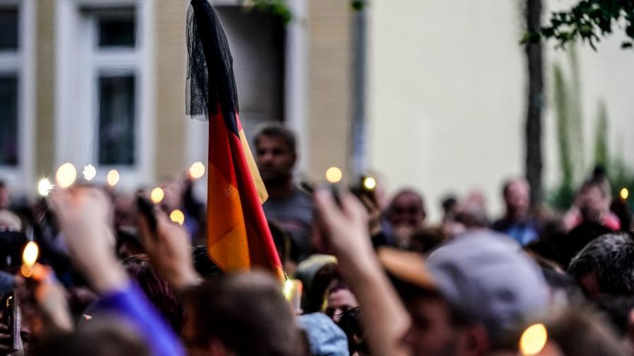 """Нов протест в Германия, скандират """"око за око"""""""