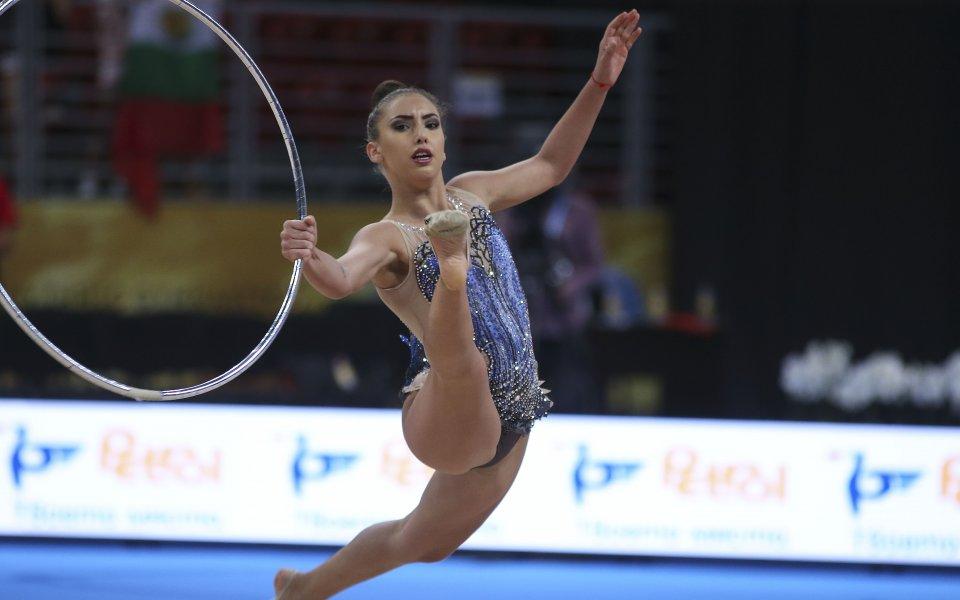 Катрин Тасева със злато във финала на лента в Киев