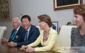 Босът на гимнастиката проведе работна среща в София