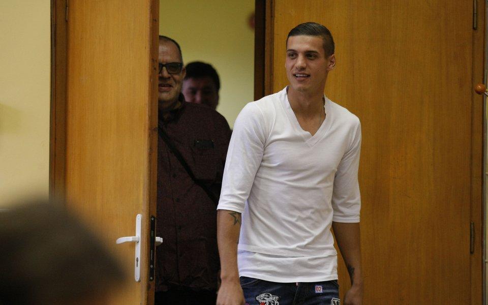Десподов: Не искам да съм голмайстор, а да спечеля титлата с ЦСКА
