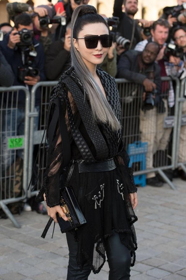 Фан Бинбин на Седмицата на модата в Париж