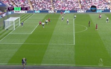 Незачетен гол на Ливърпул още на старта срещу Тотнъм