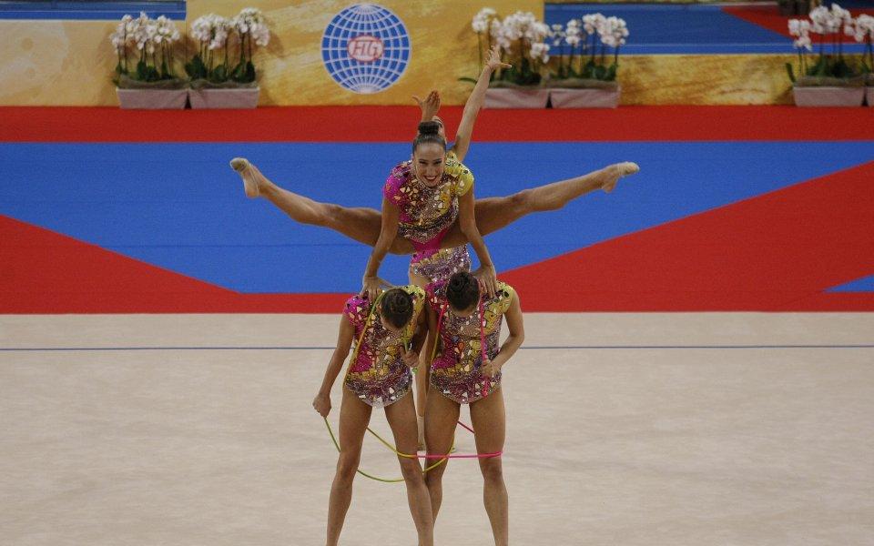 f8709c6f51d Завършихме Световното с актив от три медала - Още спорт - Художествена  гимнастика 2018 - Gong.bg