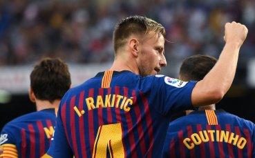 Ракитич: През лятото имах оферта, но съм щастлив в Барселона
