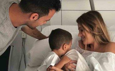 Серхио Бускетс стана за втори път баща