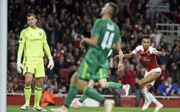 Стари слабости и много голове за Арсенал в Лига Европа