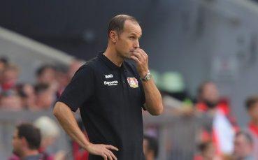 Треньорът на Леверкузен: Дори при 0:2 не се притеснихме