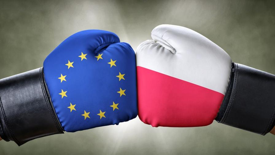 <p>Върховният съд: Полша ще трябва да напусне ЕС</p>