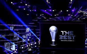 Всички победители в класацията за FIFA The Best