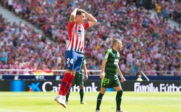 Отбраната на Атлети за дербито с Реал се заздравява