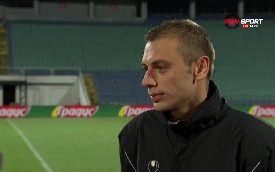 Лъчезар Балтанов: Искам да видя Ботев с купата и в тройката