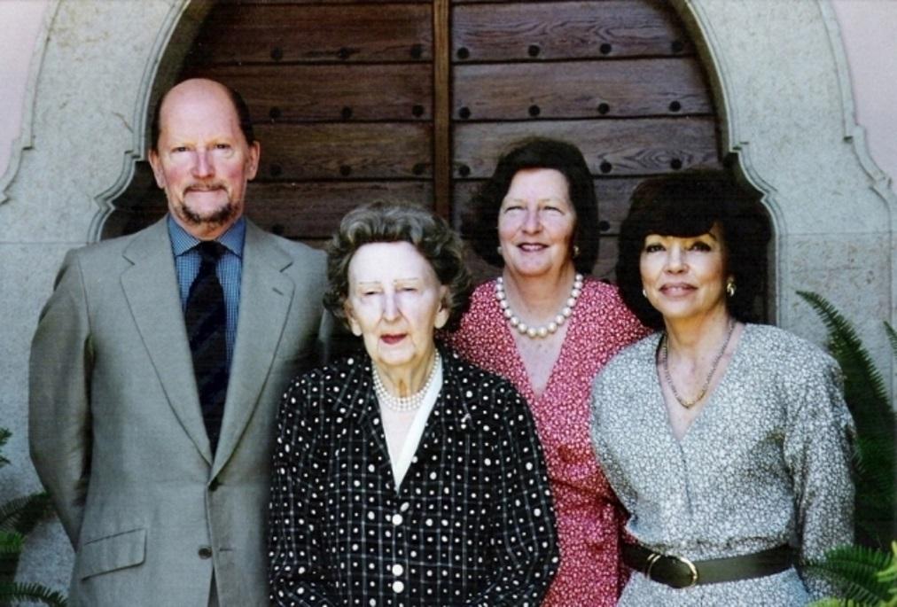 Доня Маргарита и царското семейство
