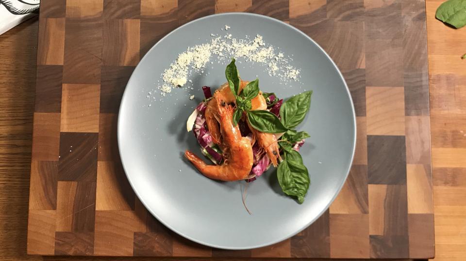 рецепта скариди