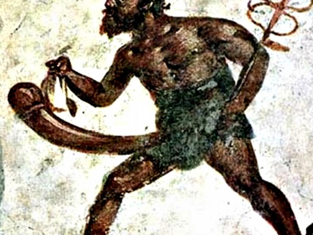 &lt;ol&gt;&lt;br /&gt;&lt;br /&gt;<br />  &lt;li&gt;Фалосът играел централна роля в изкуството в Древен Рим. Римляните носели амулети с пениси за късмет, в домовете си поставяли скулптури на пениси и покривали подовете и стените си с мозайки с фалоси.&lt;/li&gt;&lt;br /&gt;&lt;br /&gt;<br /> &lt;/ol&gt;