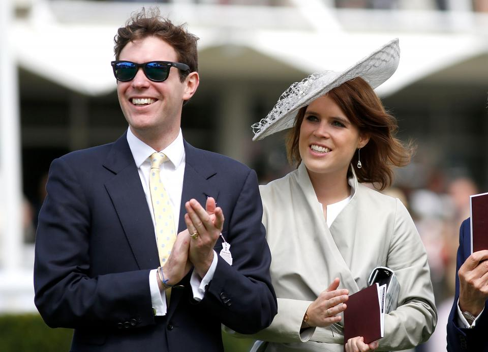 принцеса Южени и Джак Бруксбенк