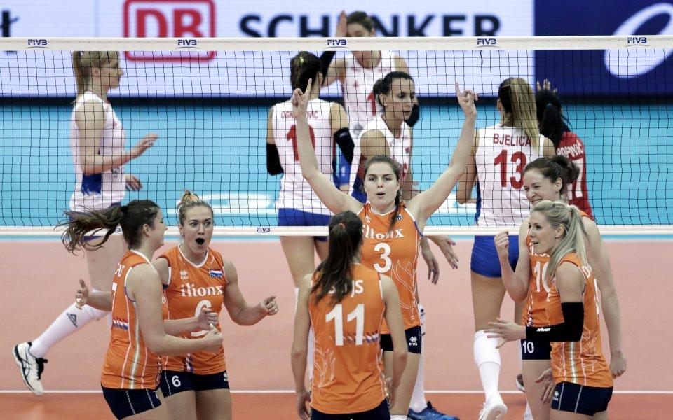 Развръзката във втория етап на Световното по волейбол за жени