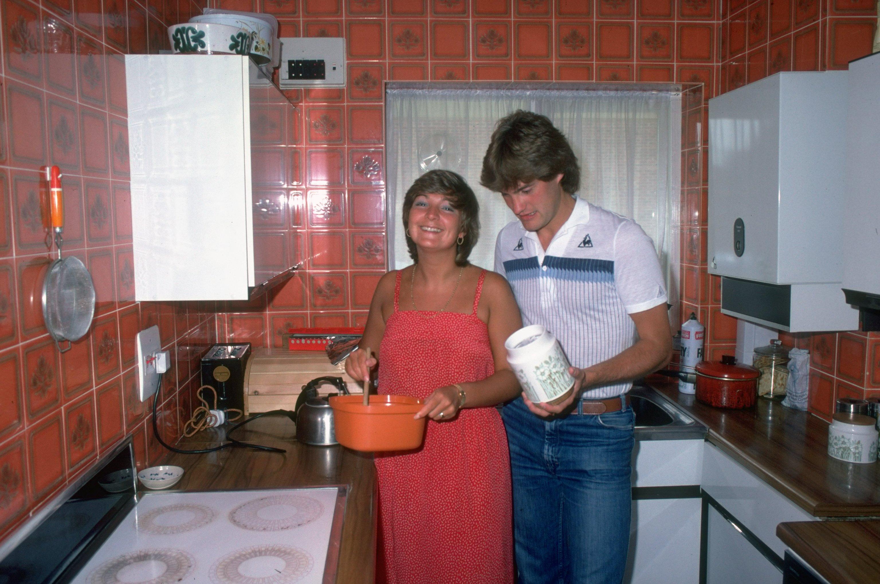 Кухня през 80-те години