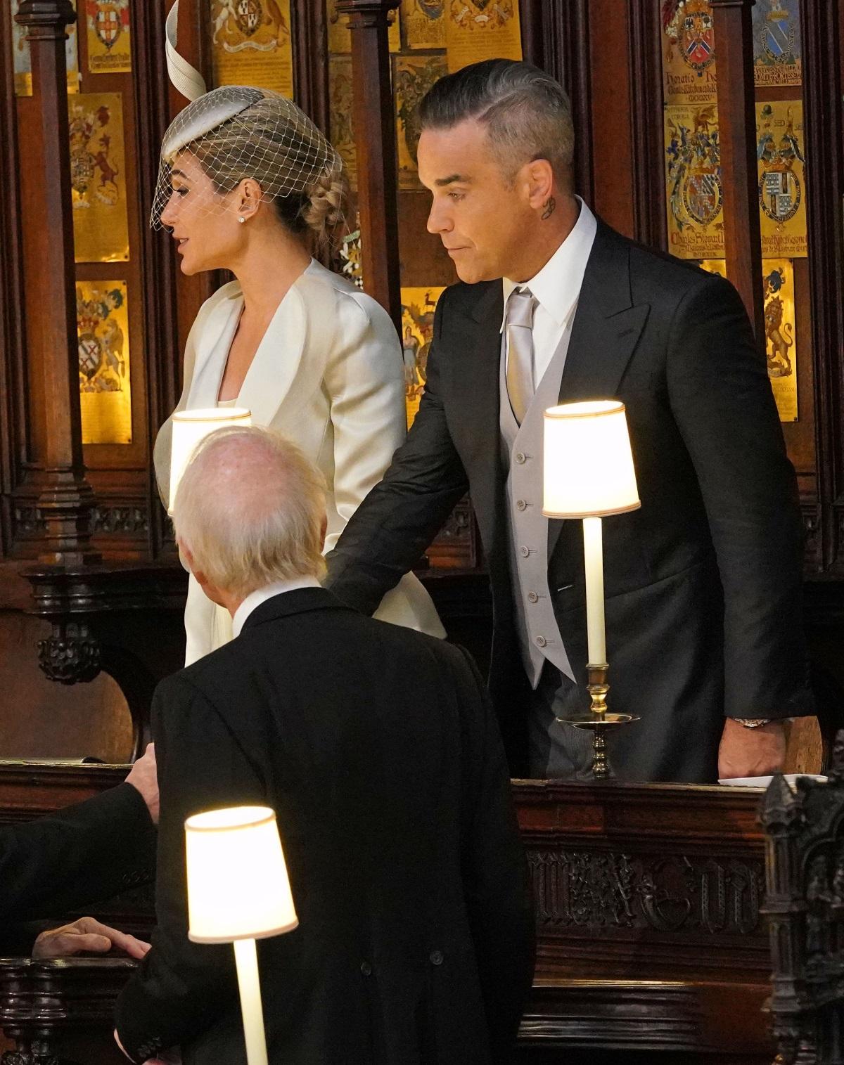 Роби Уилямс и съпругата муАйда Фи