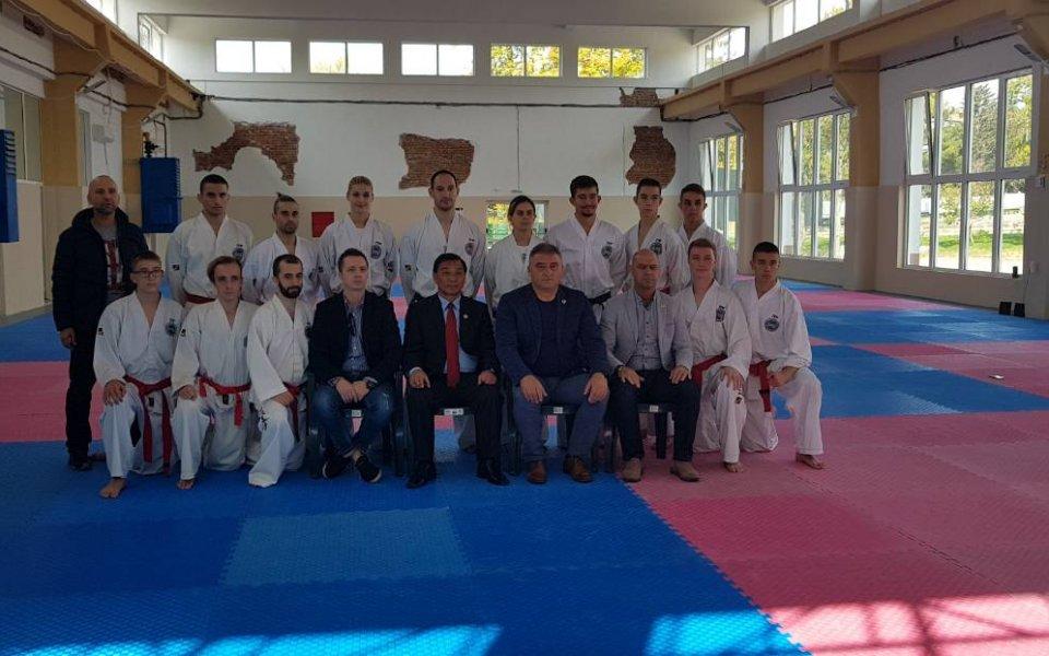 Изпит за майсторски степени по Таекуон-до се проведе в Благоевград