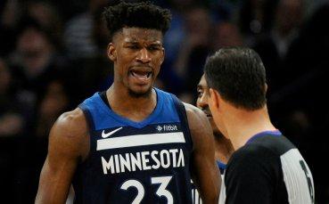 Бътлър на линия за старта на Минесота в НБА