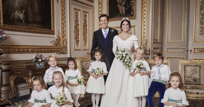 От Кенсингтън официално разпространиха традиционните портрети от приказната сватба на