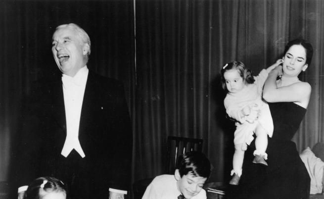 Чарли Чаплин и Уна