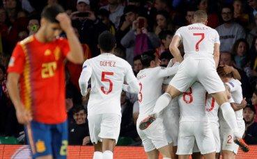 НА ЖИВО: Испанците на тотален щурм, върнаха 1 гол на Англия