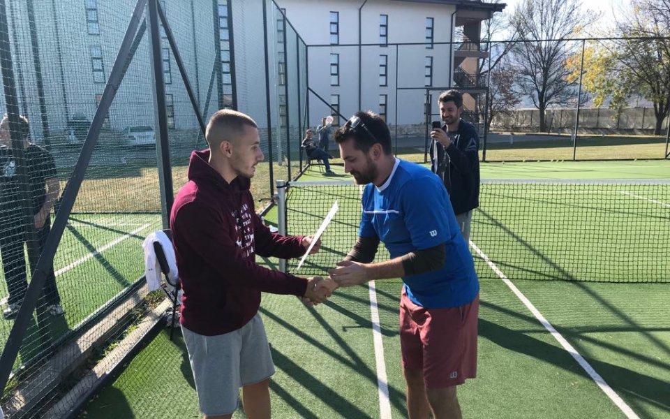 Емил Евтимов с титла от престижен турнир по тенис