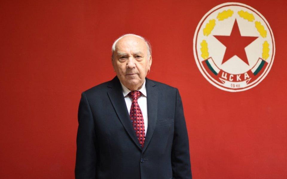 Директорът на Музея на спортната слава на ЦСКА и легенда