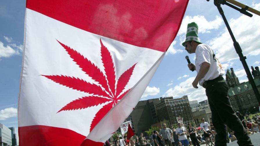 <p>Канада влезе в историята: Легализира канабиса</p>