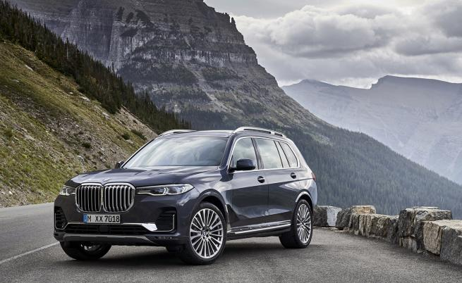 <p>X7: най-гигантското BMW</p>