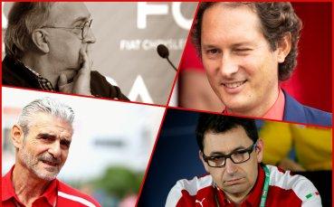 Неясното бъдеще и борбата за власт във Ферари