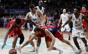 Четири отбора останаха без поражение в Евролигата