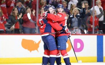 Вашингтон бие в НХЛ, резултати