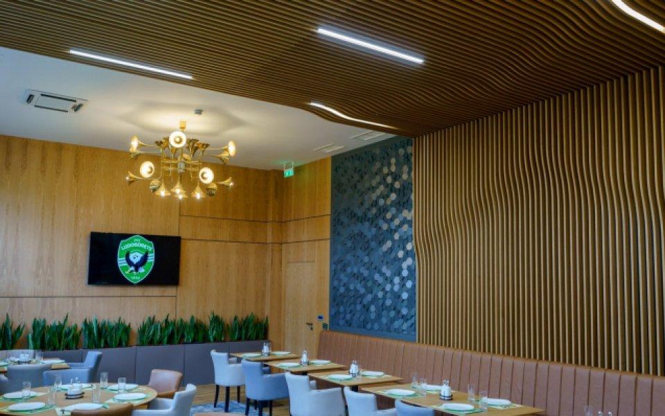 Лудогорец отвори луксозен ресторант за отбора на клубната база
