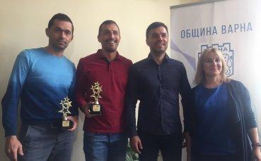 Шампионът по плажен футбол МФК Спартак е отбор на месеца във Варна