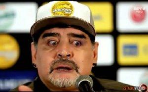 Направиха от Марадона посмешище в Мексико