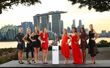 Изтеглиха жребия за Финалите на WTA в Сингапур