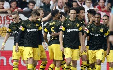 Дортмунд смрази дебюта на Вайнцирл и наби Щутгарт