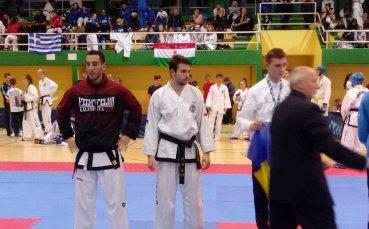 Фолкън с двама шампиони по таекуон-до в Словения