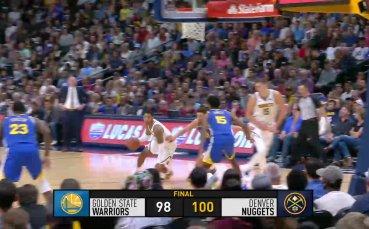 Денвър с най-добър старт от 8 години насам в НБА