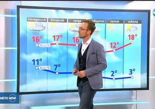 Прогноза за времето (22.10.2018 - обедна емисия)